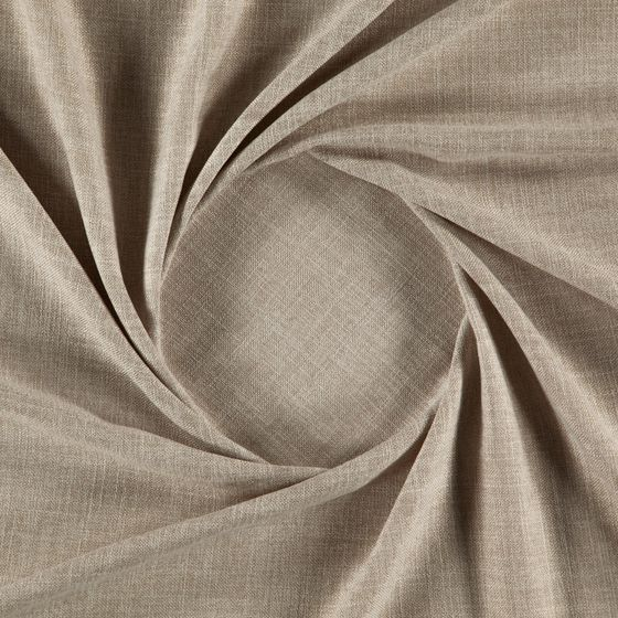 Photo of the fabric Motion Fossil swatch by Zepel. Use for Sheer Curtains. Style of Plain, Sheer, Texture