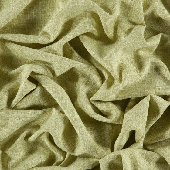 Photo of the fabric Motion Moss swatch by Zepel. Use for Sheer Curtains. Style of Plain, Sheer, Texture