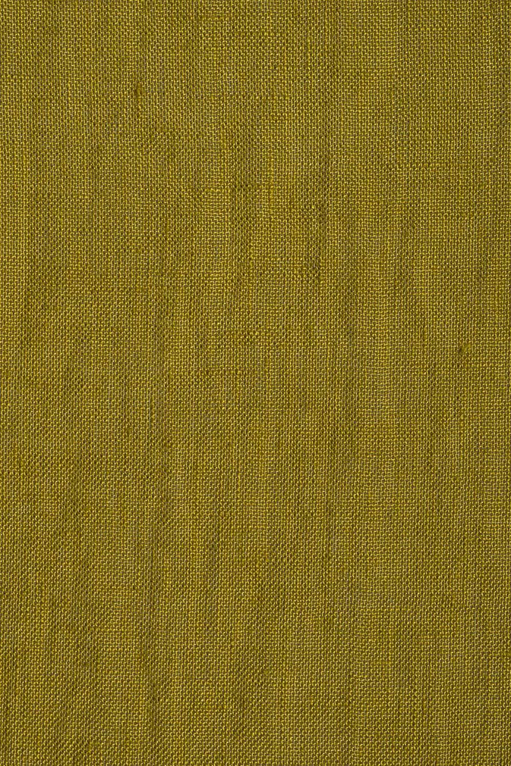 Photo of the fabric Kanso Stonewash Chartreuse swatch by Mokum. Use for Curtains. Style of Plain