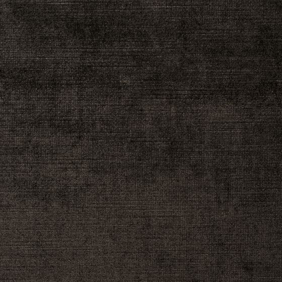 Photo of the fabric Vintage Deux Black Truffle swatch by Mokum. Use for Curtains, Upholstery Heavy Duty, Accessory. Style of Plain, Velvet