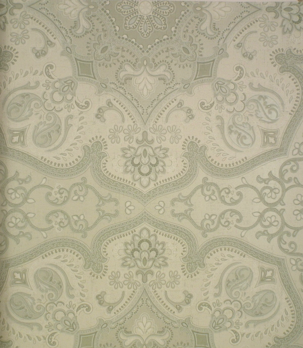 swatch of Persia Wallpaper Seagrass